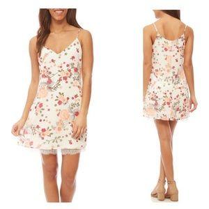 Love Fire floral dress